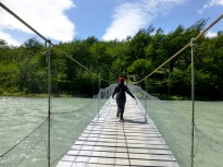 Crossing Rio Pingo