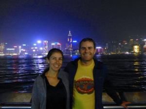 Tsim Sha Tsui laser show