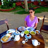 Insane breakfast spread
