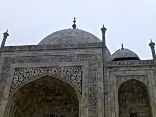 Details on the Taj