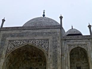 Details on the Taj