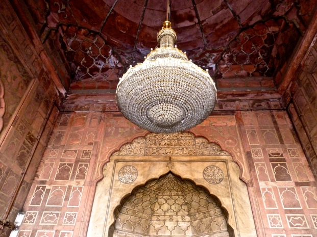 Prayer hall at Jama Masjid