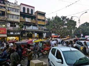 Chandni Chowk Hectic